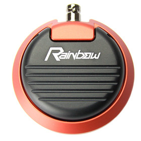 RAINBOW Foot Switch - Color Black-Carmine Rose