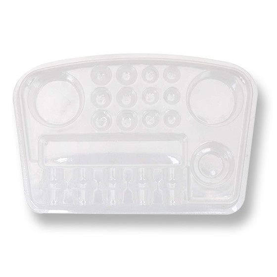 QUICKTRAY -  Disposable holder for Ink, Vaseline and Cartridges