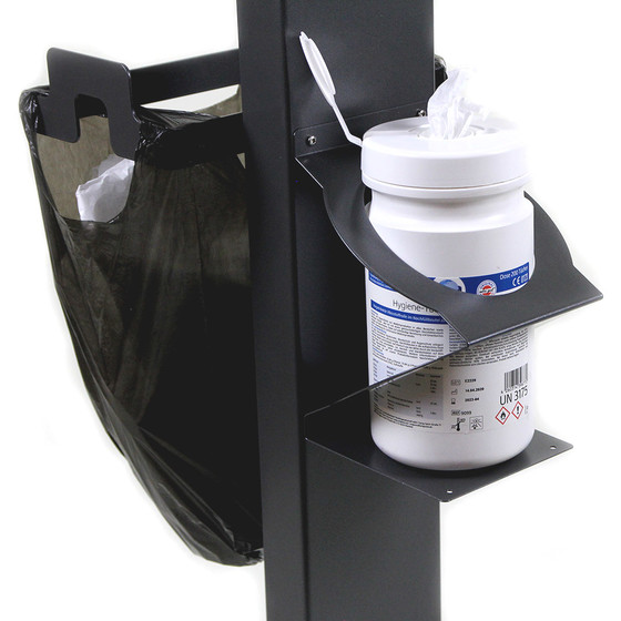 CONPROTA - Holder for large can of Disinfectant Wipes Cans