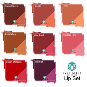 EVER AFTER Pigments - PMU Pigmente - Lip Set 8 x 15 ml